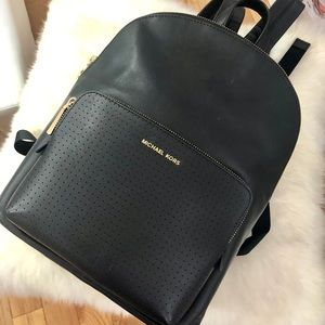 Michael Kors leather backpack large